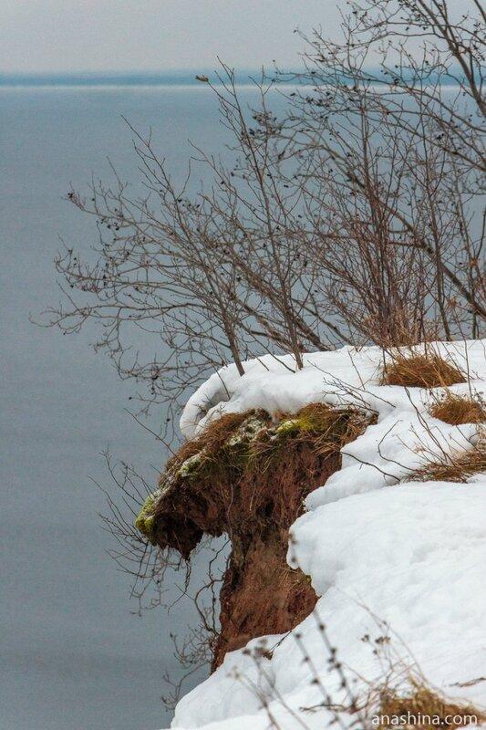 Обрыв, Андома-гора, Вологодская область, Онежское озеро