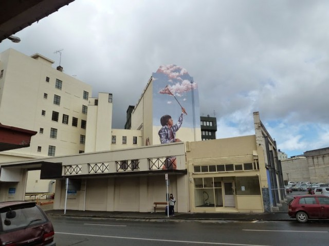 Mural Street Art in New Zealand