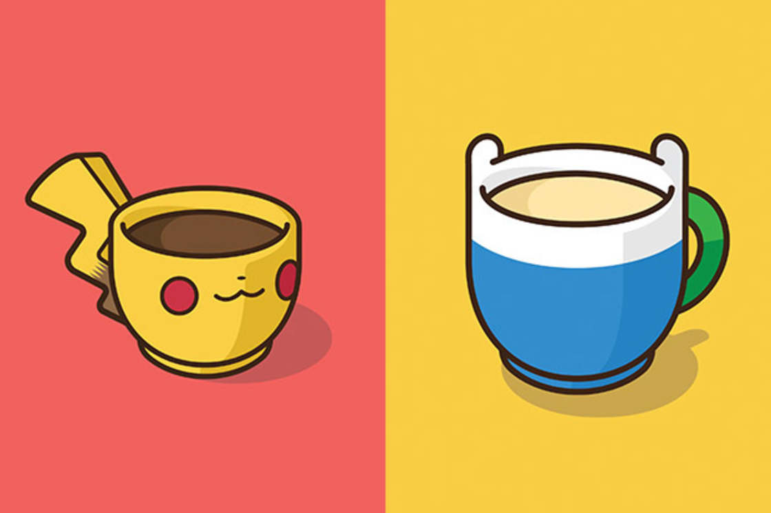 Pop Culture Coffee – Les personnages de la pop culture version tasses a cafe (28 pics)