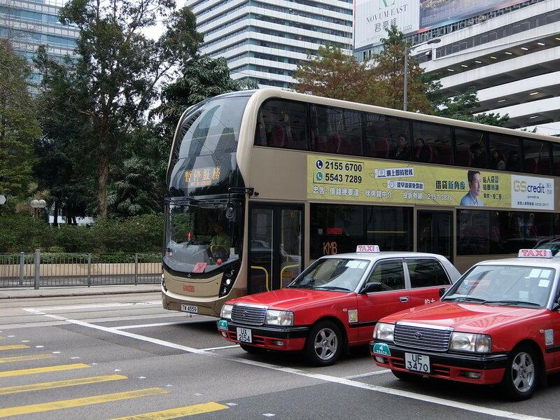 Гонконг - Автобус и такси