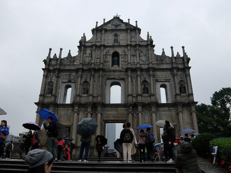 Макао - Руины Святого Павла