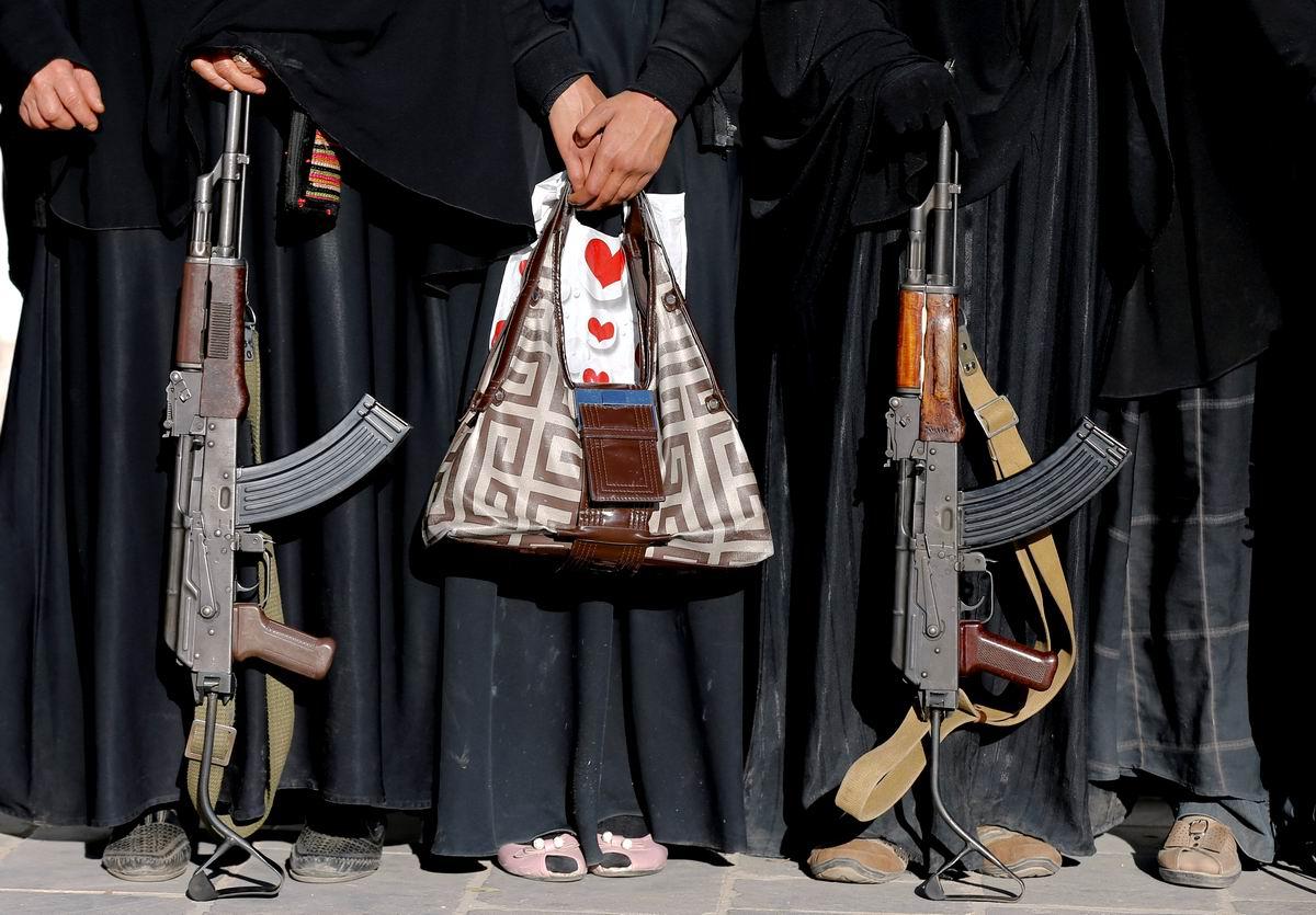 Сердечки с автоматами: Женские аксессуары современного Йемена