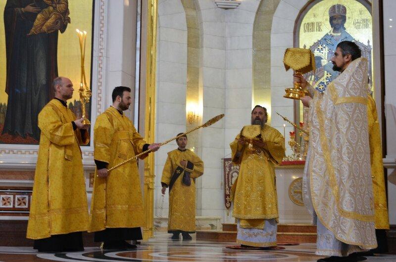 Архиерейское служение в Неделю 25-ю по Пятидесятнице