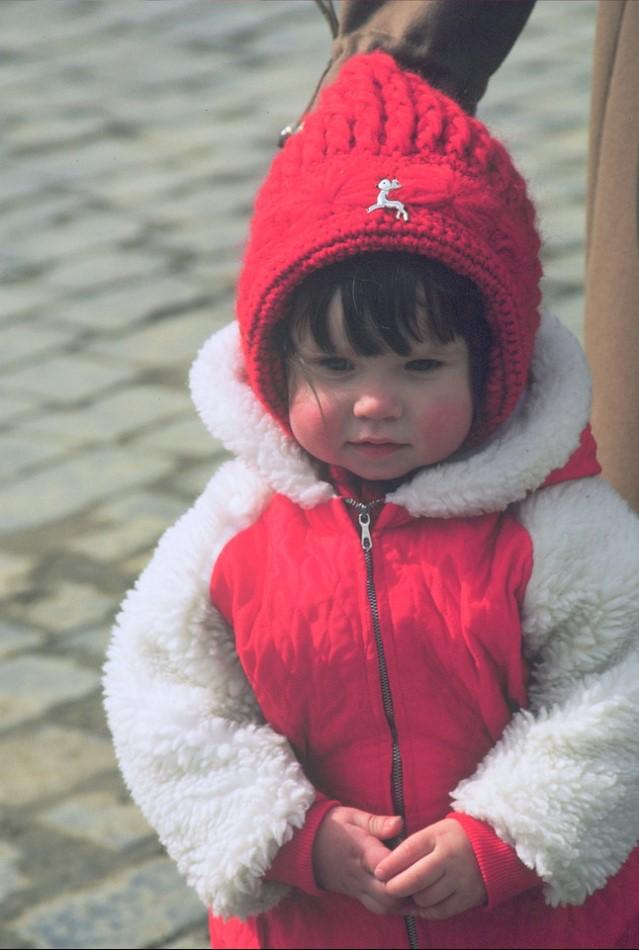 Красная площадь. Ребенок