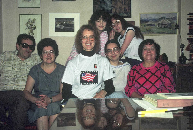 Чудесная семья, с которой я познакомился в Москве