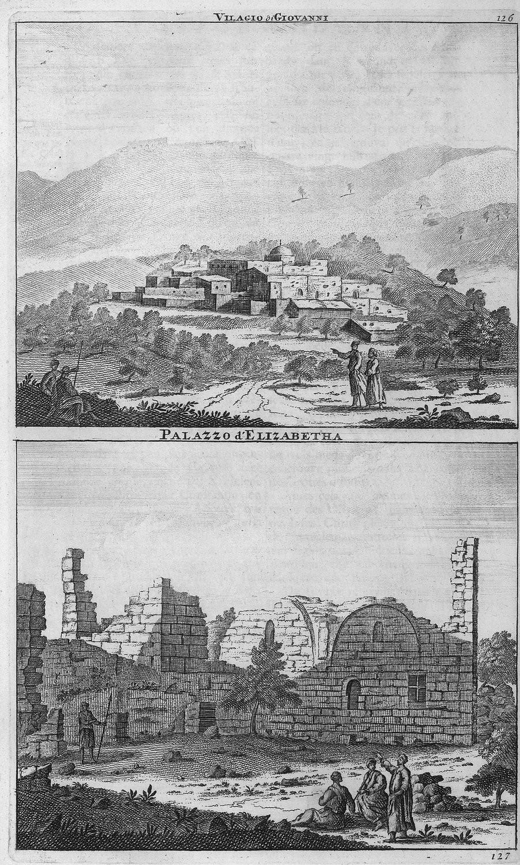 Путешествие из Рамы в Иерусалим. Вифлеем. Дворец Елизаветы