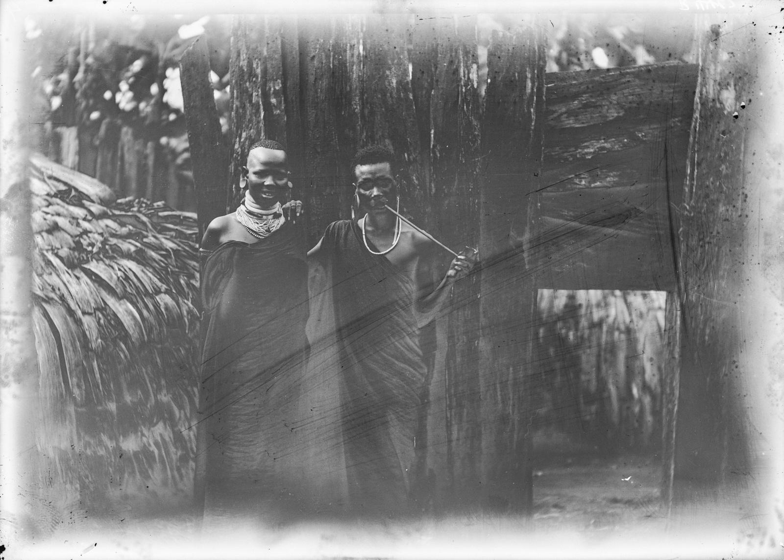 176. Портрет одного из вождей чагга с одной из его жен