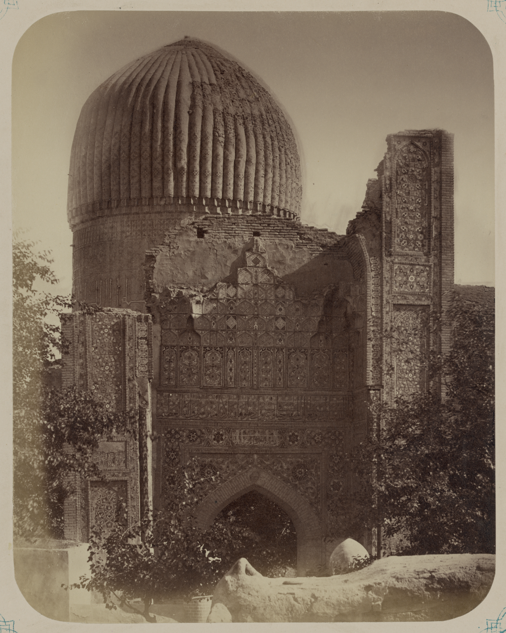 Мавзолей эмира Тимура Курагана. Вид северного фасада