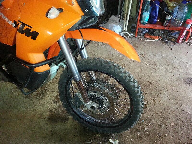 Крыло на мотоцикле