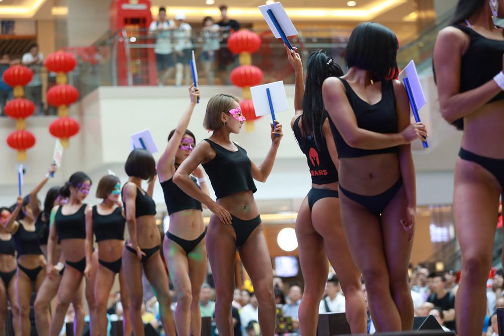 Конкурс «Мисс Бум Бум» в Китае