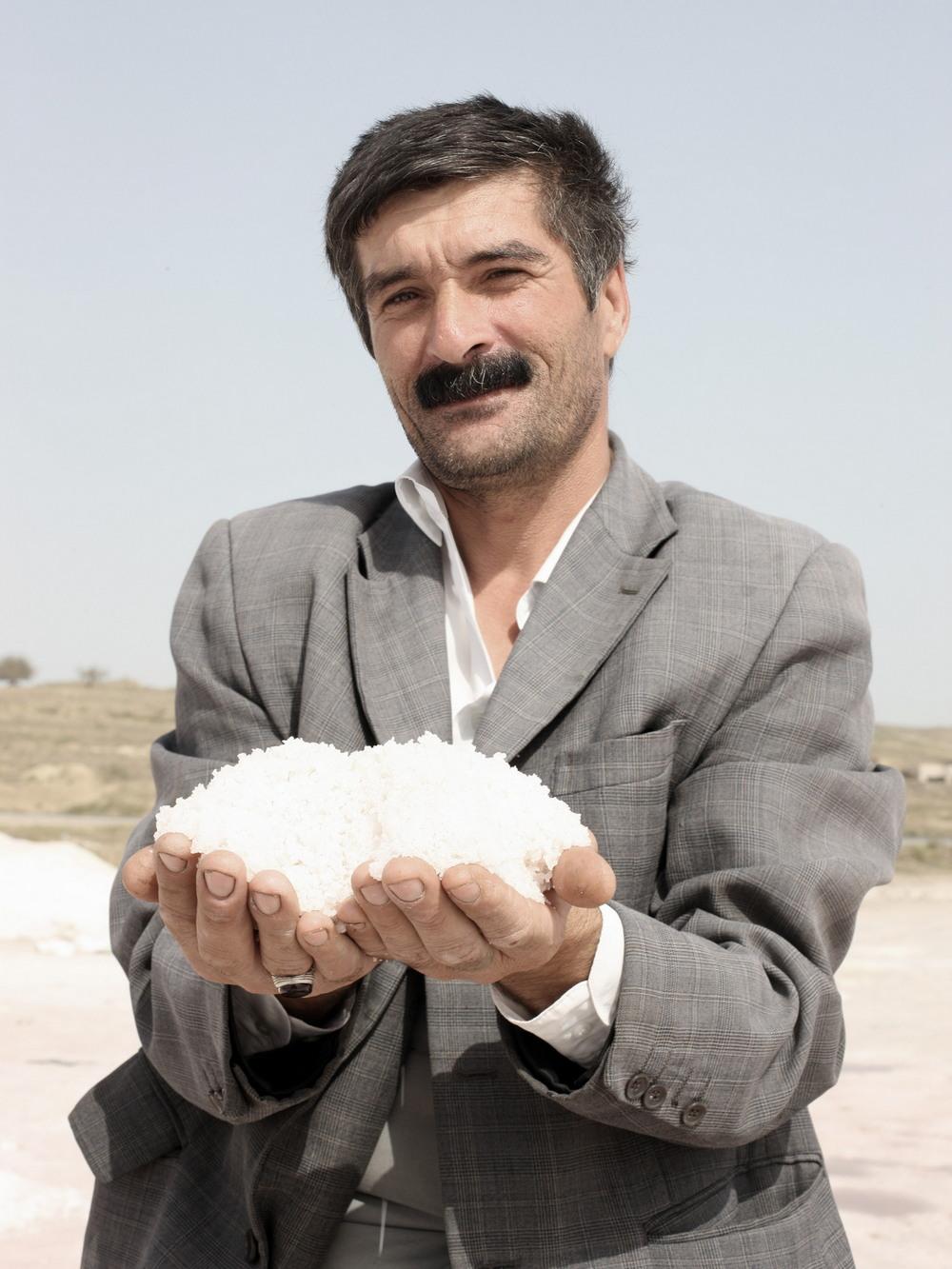 Азербайджанские рабочие нефте- и соледобывающей отрасли