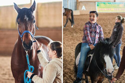 Экскурсия в конно-спортивный клуб. Летний лагерь