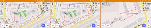 GPS, треки