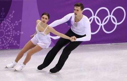 Фигуристы Забияко иЭнберт стали третьими волимпийской произвольной программе