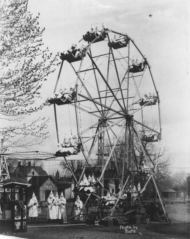 KKK, Colorado, 27 Apr 1926.