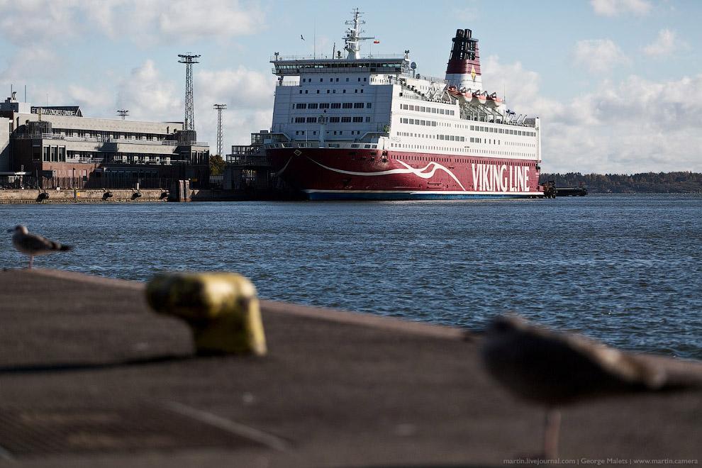 3. Действующие маршруты Viking Line:  Турку — Мариехамн/Лонгнес — Стокгольм; Хельсинки — Мар
