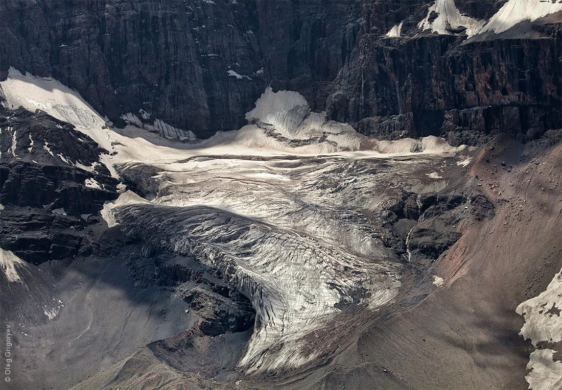 44. Гигантский ледник.