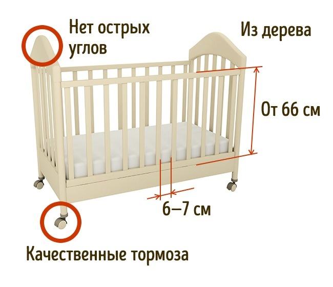 © depositphotos.com  Лучшим материалом для детской кроватки считается натуральное дерево. Оно