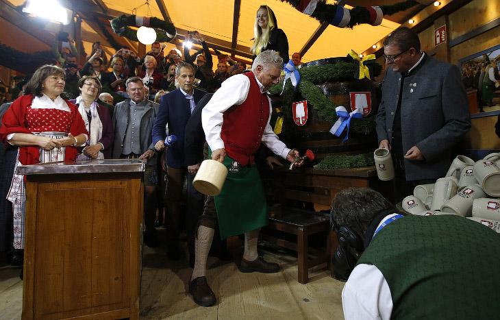 2. Первый «Октоберфест» состоялся 17 октября 1810 года. Поводом для народного праздника стала свадьб