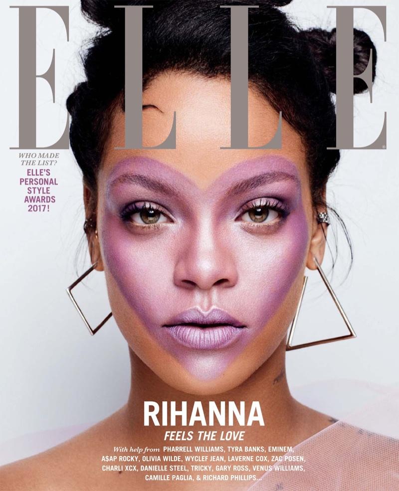 Рианна в Elle US
