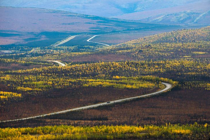 Самая северная дорога Америки (19 фото)