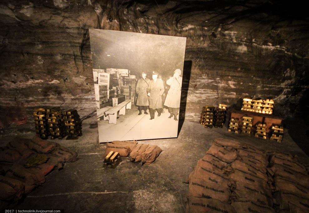 24. Все инсталляции перекликаются с историческими снимками. Как видно на снимках, для охраны сокрови