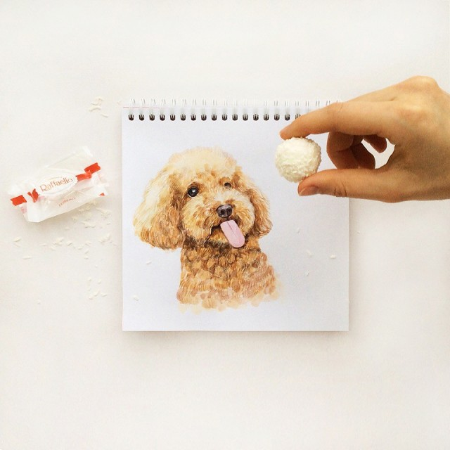Interactive Dog Illustrations