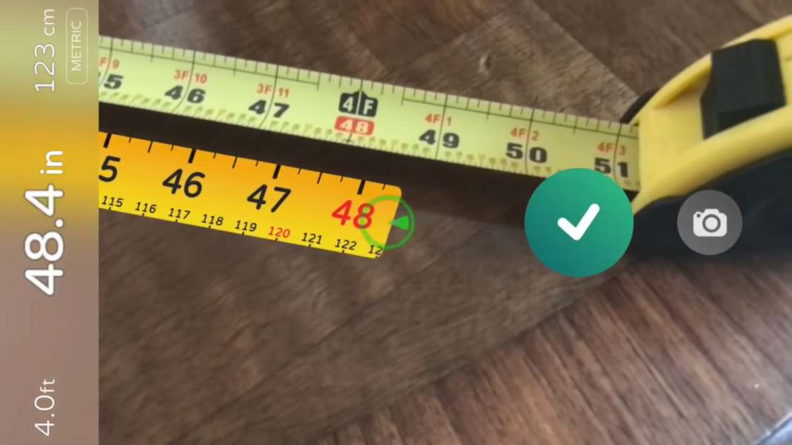 AR Measure – Measuring stuff thanks to augmented reality