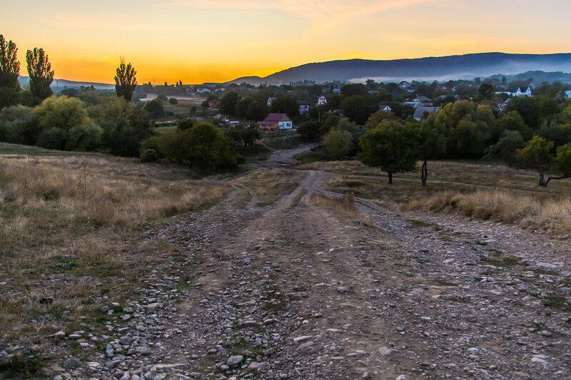 Закат над Старым Крымом