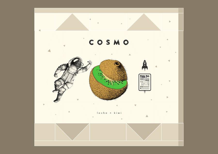 Cosmic Illustrated Brand Identity
