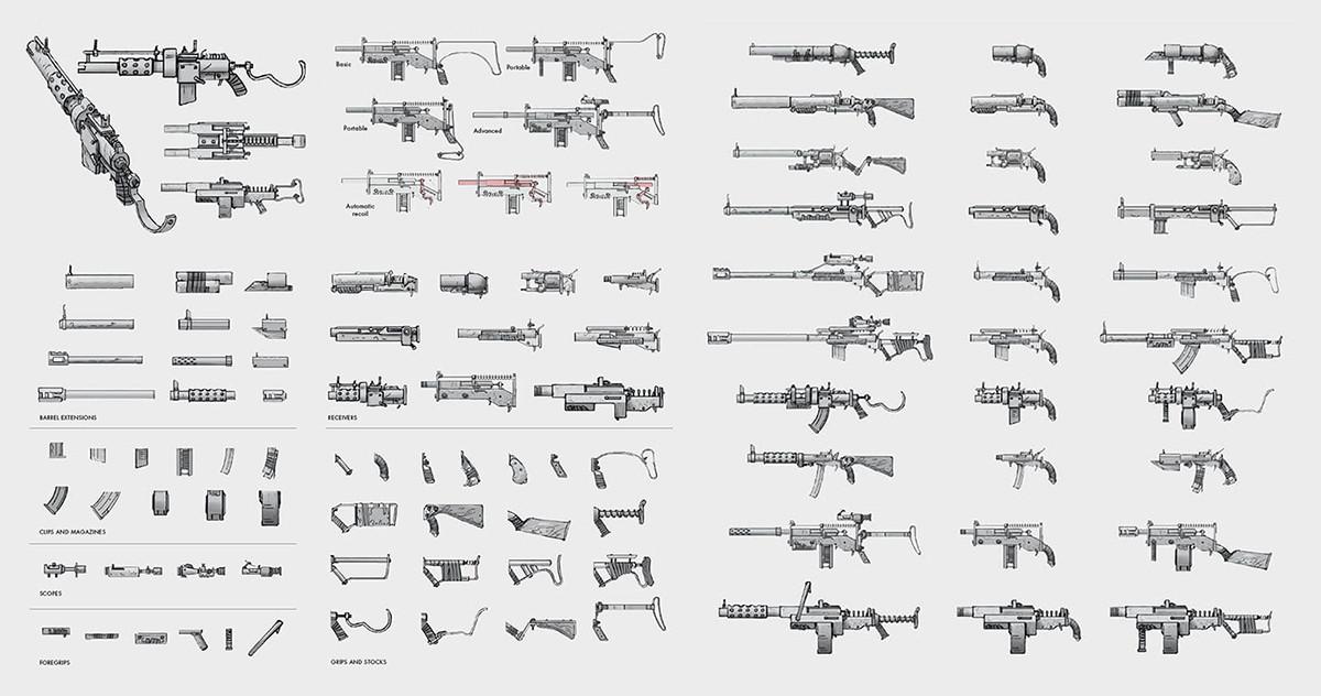 Fallout 4 Concept Art by Ilya Nazarov