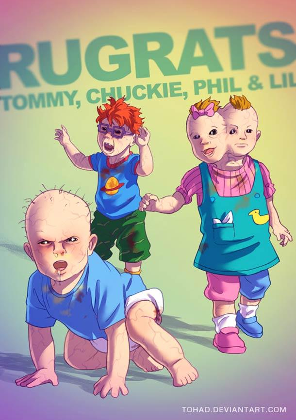 Os herois da nossa infancia foram transformados em valentoes barra pesada