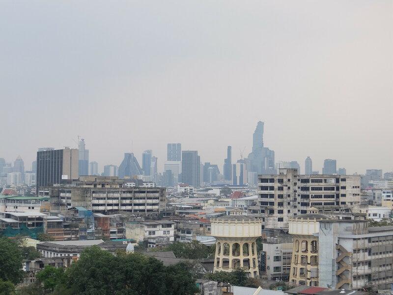 Бангкок - Вид с Золотой Горы