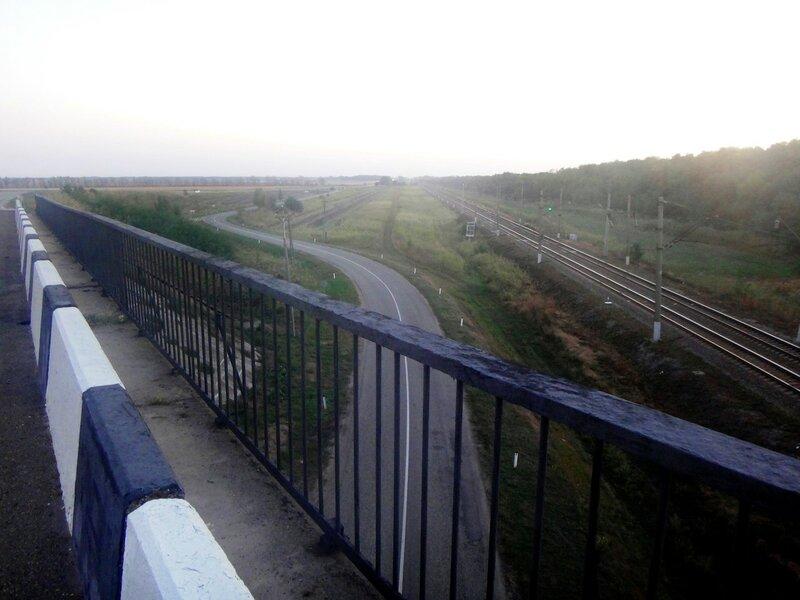 Утро... В пути... Общее направление - Юг ...   11. Фото из велокольца. Ахтари-Староминская-Бейсугский пролив (71).JPG