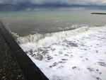У моря Чёрного, в Абхазии, время зимнее, Новогоднее (19).JPG