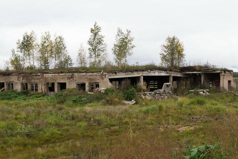 развалины фермы в урочище Каменные Поляны
