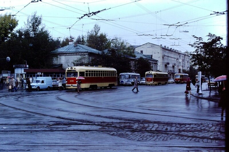 Немного трамваев