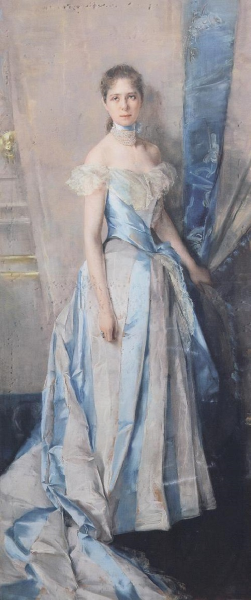 Ritratto di Maria Soulier (1889)