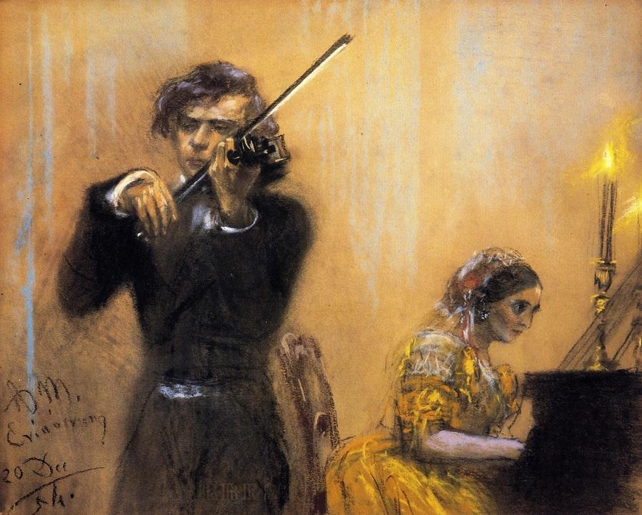 Clara Schumann and Josep Joachim in Concert
