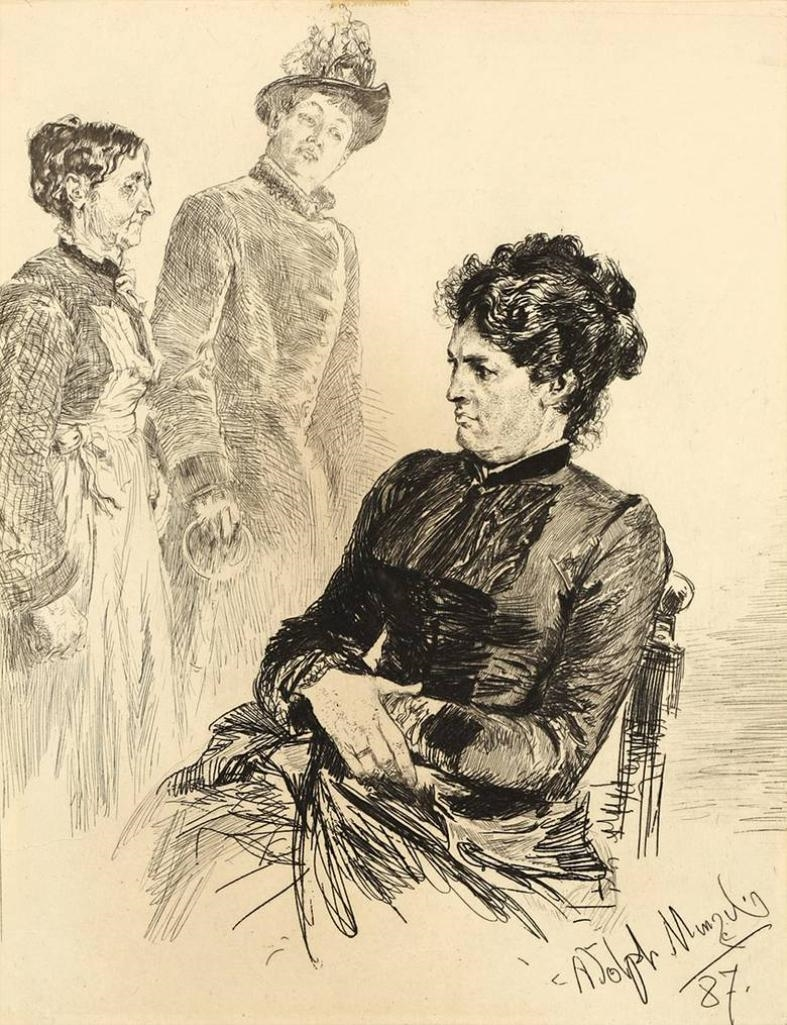 STILLE TEILNAHME, 1887