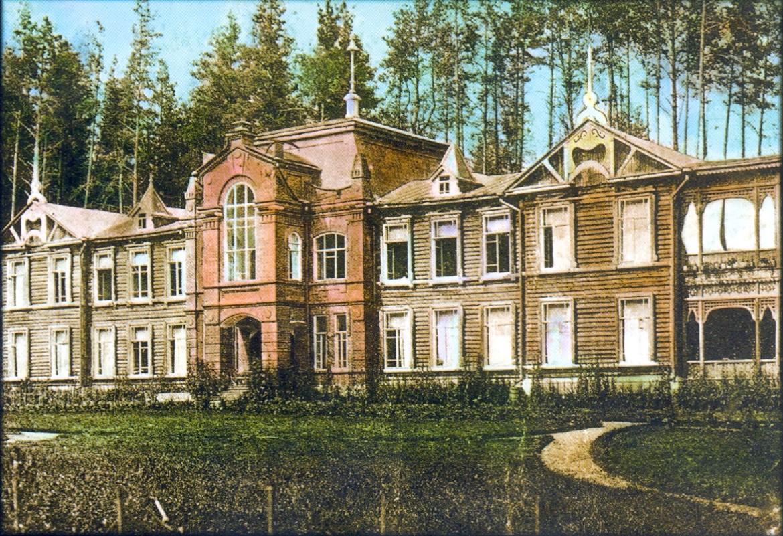 Главный корпус кумысолечебницы В.Н.Климушина