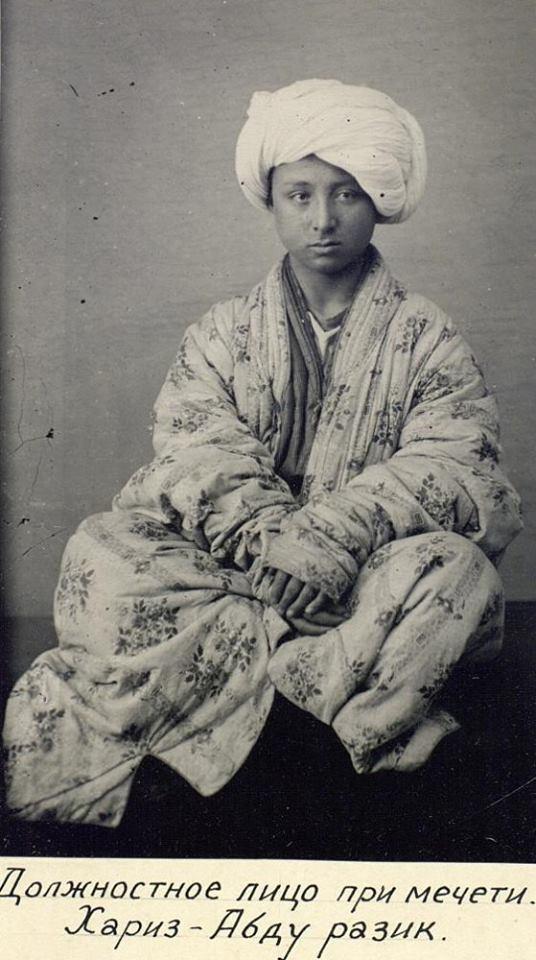 Хариз-Абду Разик - должностное лицо при мечети