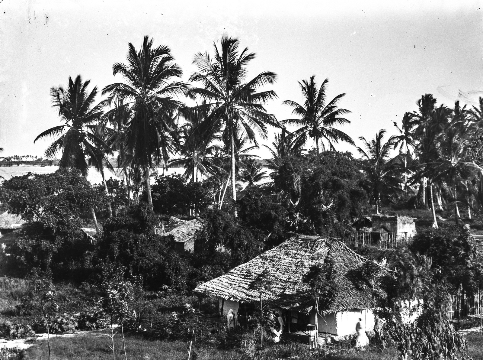 186. Поселение на побережье, в районе Дар-эс-Салама