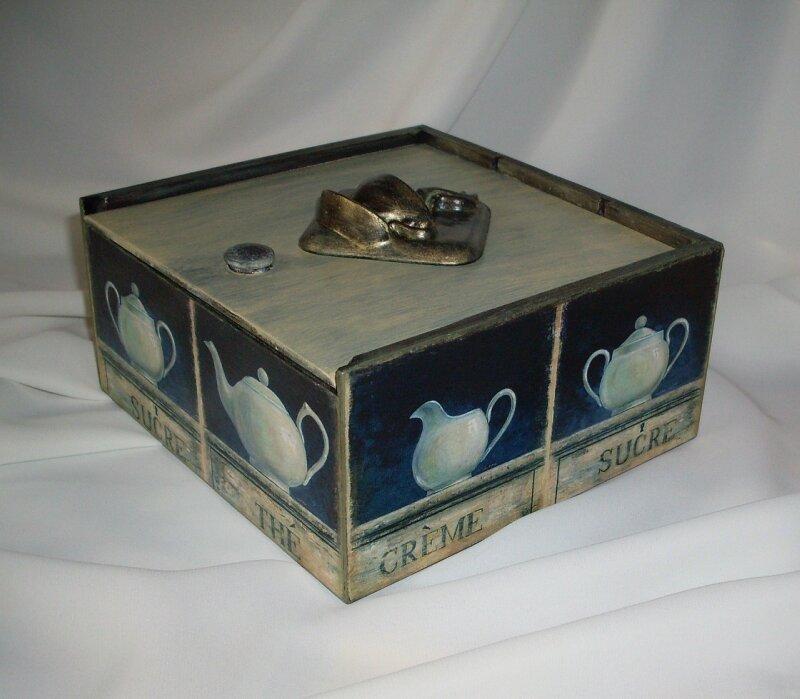 """Коробка """"Чайный аромат"""""""