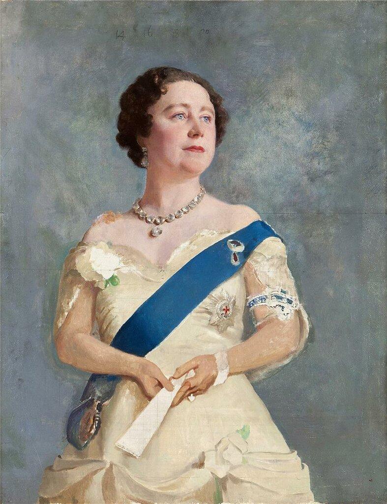 Королева-мать, Елизавета, Gerald Festus Kelly (1879-1972)