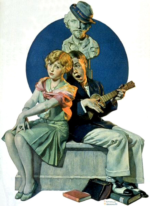 a biography of norman percevel rockwell an american artist Download a free bio of norman percevel rockwell at just as well say as american as a norman rockwell rockwell became the post's top cover artist and.