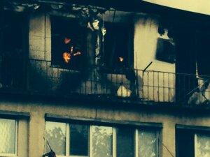 Дом со сгоревшей мансардой до сих пор не починен