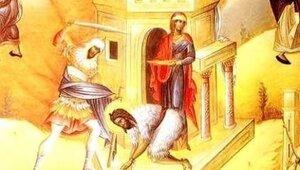 Церковь отмечает день усекновения главы Ионна Крестителя
