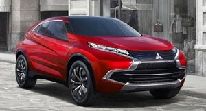 В 2017 году Mitsubishi выпустит гибридный кроссовер ASX