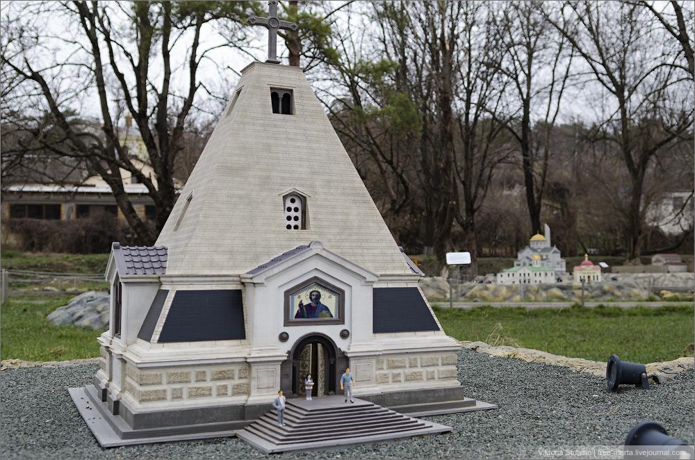 Свято-Никольский Храм в Севастополе. Бахчисарай, парк миниатюр.